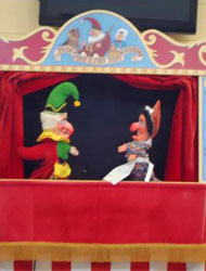 punch and judy meet the characters