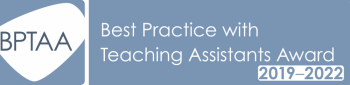 Best Practice with Teaching Assistants award logo